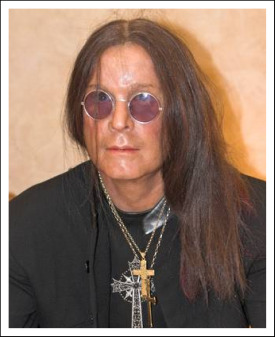 Ozzy Osbourne in wax